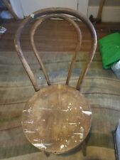 Vintage Bentwood Parlor Bistro Cafe Side Chair Thonet