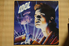 "Billy Idol autographe signed LP-Cover ""CHARMED LIFE Vinyle"