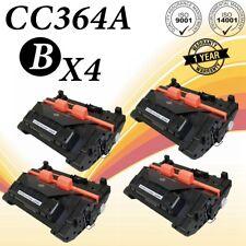 4PK CC364A Toner Cartridge For HP LaserJet P4014 P4014n P4015 P4515XM P4015dn