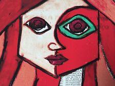 """Romero Britto: Original un Pression """"RED"""", signé, #16/180, + Rizzi PIN"""