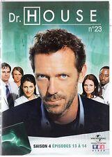 Dr HOUSE - Intégrale kiosque TF1 Video - Saison 4 - dvd 23 - Episodes 13 à 14