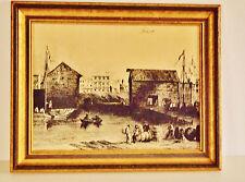 WILLIAM H. BARTLETT (1809-1854) - ENGRAVING ON COPPER -  TORONTO