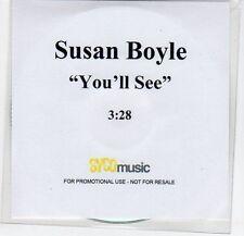 (EF353) Susan Boyle, You'll See - DJ CD
