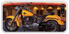 iPhone 5 5S Lightweight Yellow HARLEY Davidson Fatboy MOTORCYCLE Case Theater BG