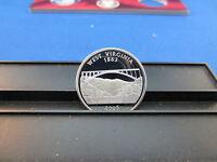 2005-s Silver West Virginia Quarter Deep Cameo Mirror Proof Upper Grading Ranges