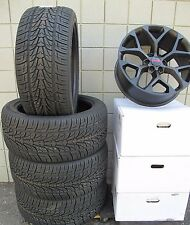 "22"" GMC Yukon Sierra Factory Style Matte Black Wheels 5668 Tires Nexen 3054522"