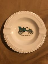 Vintage The Harker Pottery Co. Asytray Cadillac Automobile 1903
