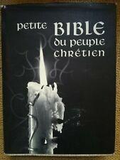 RELIGION: Petite Bible du Peuple Chrétien - 8037