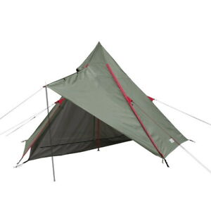 DOD T1-442 Riders One Pole Tent + GS3-561-GY Gray One Pole Tent S Ground Sheet