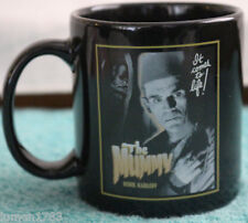 THE MUMMY UNIVERSAL MONSTER RETRO COFFEE MUG RARE BORIS KARLOFF CREEPY EERIE NEW