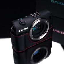GARIZ Genuine leather case Canon EOS M Brown XS-CHMBKR