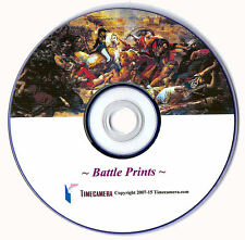PRINT/SELL 'ANTIQUE' BATTLE PRINTS - Restored Images on a DVD