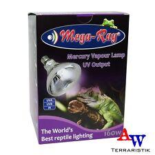 Mega Ray UV Basking Lamp 160W - UVA/UVB Strahler - Mischlichtlampe PAR38 Flood