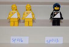 Lego Minifigure Space Futuron LOT of 3 Yellow Black 6810 6885 6848 6550   #LX767