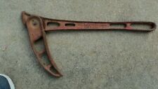 Vintage Rein Leitzke Cast Iron Barbed Wire Fence Stretcher Hustisford, WI