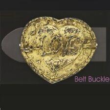 Bayern Gürtelschnalle Gold Wiesn Oktoberfest Herz Love Wechselschließe GS5194
