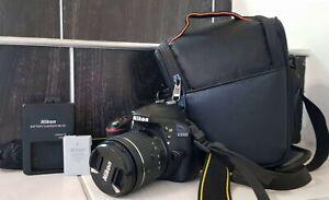 Nikon D3300 DSLR Camera With 18-55mm lens + bag. Only 6434 shutters