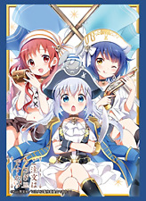 Is the Order a Rabbit Chimame-tai Card Game Character Sleeves HG Vol.1328 Anime