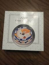 Scott's Collectables Ceramic Dog Dish (New In Box)