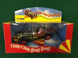 Corgi 03502CC CHITTY CHITTY BANG BANG CAR WITH ALL FIGURES