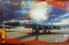 Kitty Hawk 1/48 SU-35 Flanker-E Chinese Air Force (with resin extra parts)
