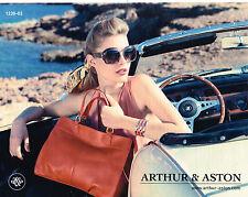 PUBLICITE ADVERTISING 094  2013  ARTHUR & ASTON accessoires sacs lunettes solair