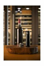 The Original Vacu Vin Wine Saver with 2 Vacuum Stoppers – Black FREE SHIPPING