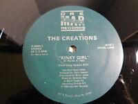 "The Creations – Kinky Girl 12"" Single 1984 Funk Soul Boogie"
