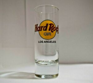 Hard Rock Cafe  Shot Glass Los Angeles Travel Souvenir Shooter