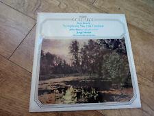 Max Bruch – Concert Ouverture Op.7 / Symphony No.2 In F Minor UK vinyl LP