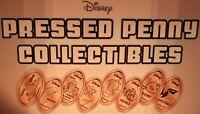 Nemo & Friends Set Of Eight Souvenir Pressed Pennies - Hank, Bailey, Destiny