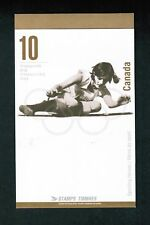 1996 CARNET TIMBRE CANADA BOOKLET STAMPS BK192 1608 - 1612  OLYMPIC MEDALS  DM18