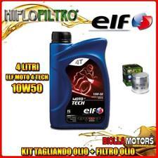KIT TAGLIANDO 4LT OLIO ELF MOTO TECH 10W50 BMW R1150 RT 1150CC 2002-2005 + FILTR
