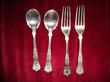 15 pieces Tiffany and Co. flatware silver ep English King pattern ? Server, etc.