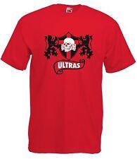 T-shirt Maglietta J1362 Ultras Milan Skull Fossa dei Leoni Curva Sud