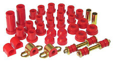 Prothane TOYOTA 79-83 2WD PICK UP PICKUP TRUCK TOTAL SUSPENSION BUSHING KIT RED