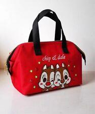 Disney squirrel couple Lunch box bag handbag keep warm cool tote bags fashion