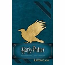 Harry Potter: Ravenclaw Hardcover Ruled Journal Blue MNC718 Brand New