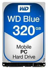 "Western Digital Wd Blue 2.5"" Internal Hard Drive Sata 320gb 16mb Cache 5400rpm"
