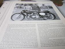 Motorrad Archiv Prominenz 4205 Gilera Trio 1951 G  Gilera N Pagani U Masetti