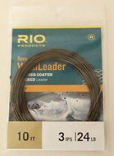 Rio Spey VersiLeader 10' 3 IPS 24 LB Free Shipping Options 6-24227
