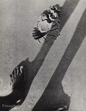 1932 Vintage Print FOOT SHADOW SAND Feet Beach Photo Art 16X20 ~ MARTIN MUNKACSI