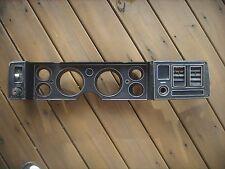 Camaro Dash Instrumental Panel, With 6 Holes, Black, No Gauges, 1979-1981  OEM