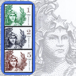2018  STATUE of FREEDOM  Complete Set of 3  Different  MINT Stamps  # 5295-5297