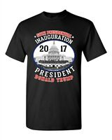58th Presidential Inauguration Day President Donald Trump Adult DT T-Shirt Tee