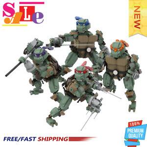Green Ninja MOC-51796 Building Blocks Set 3613 Pieces Bricks Model Toys for Kids