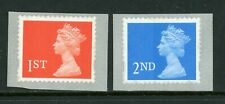 Great Britain Scott #MH308-MH309 SA COIL STAMPS Machin 1st and 2nd class CV$6+