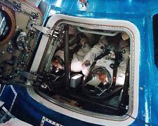 Nasa Apollo 9 Prime Crew in Weltraumfahrzeug 11x14 Silber Halogen Fotodruck