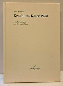 Jupp Weindich - Krach um Kater Paul - mit Widmung vom Autor