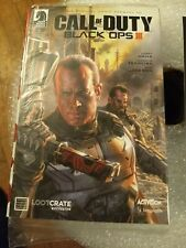 Call Of Duty Black Ops 3 #1  Loot Crate Comic Book Dark Horse Comics New Sealed